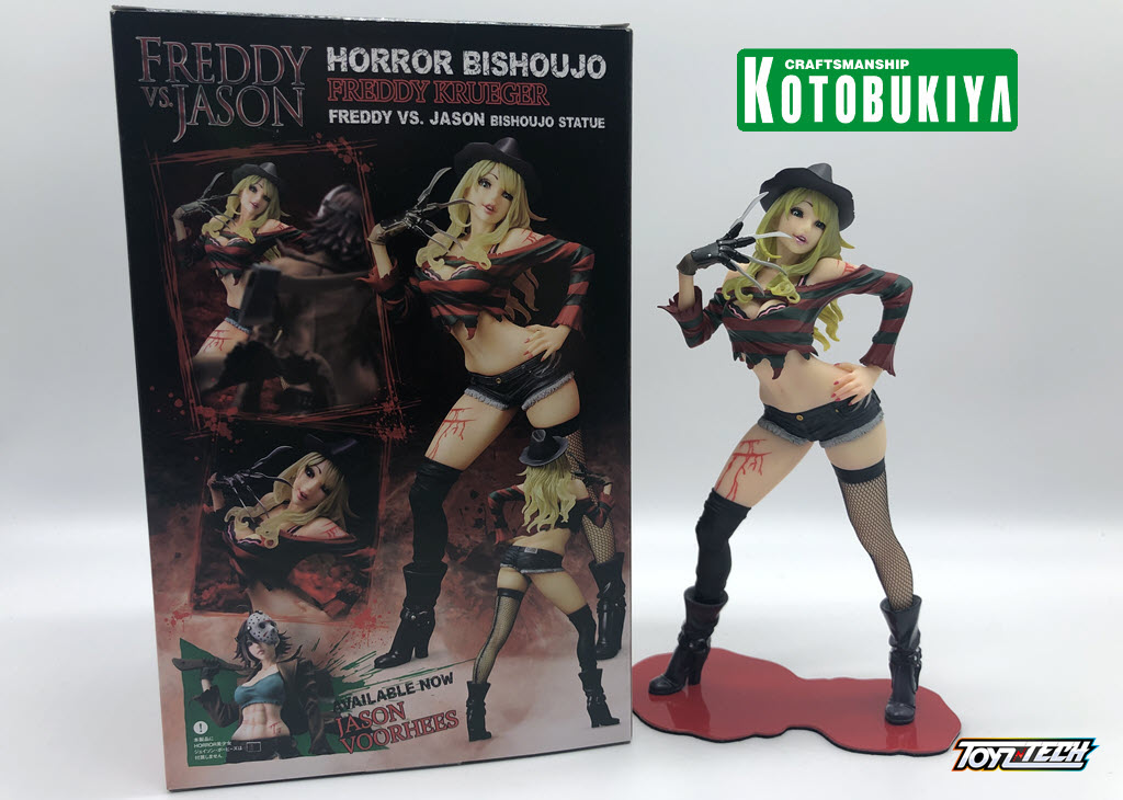 Horror Bishoujo Freddy Krueger Second Edition- Recensione di Kotobukiya