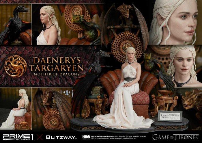 Daenerys Targaryen Mother of Dragons (Game Of Thrones) di Prime 1 Studio e Blitzway