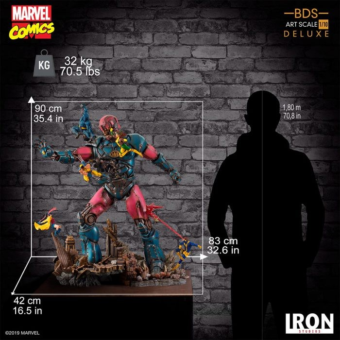 Marvel Comics: X-Men Vs Sentinel 1/10 di Iron Studios
