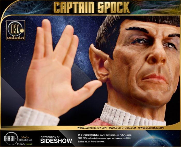 Star Trek II: Spock 1/3 di Darkside Collectibles e Infinite Statue