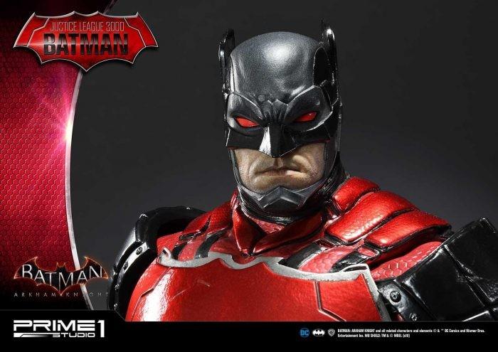 "Prime 1 Studio: Batman Arkham Knight Statue da ""Justice League 3000"""