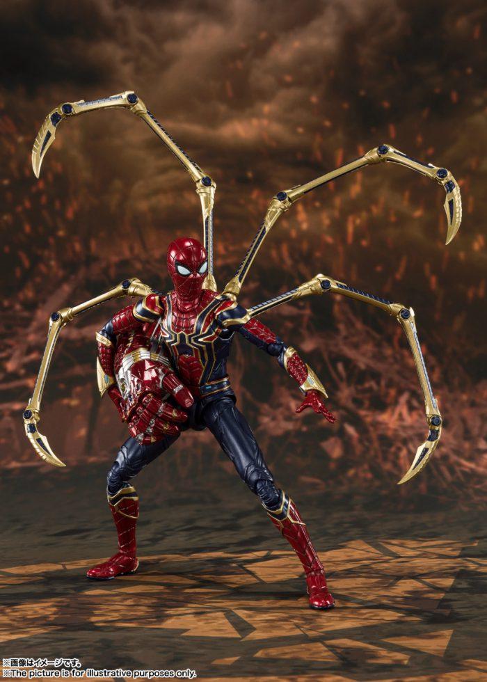 Iron Spider Final Battle (Avengers: Endgame) da Tamashii Nations