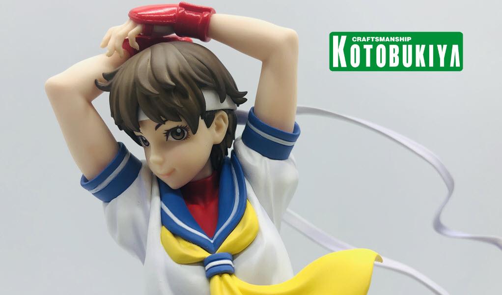 Sakura Street Fighter Bishoujo- Recensione di Kotobukiya