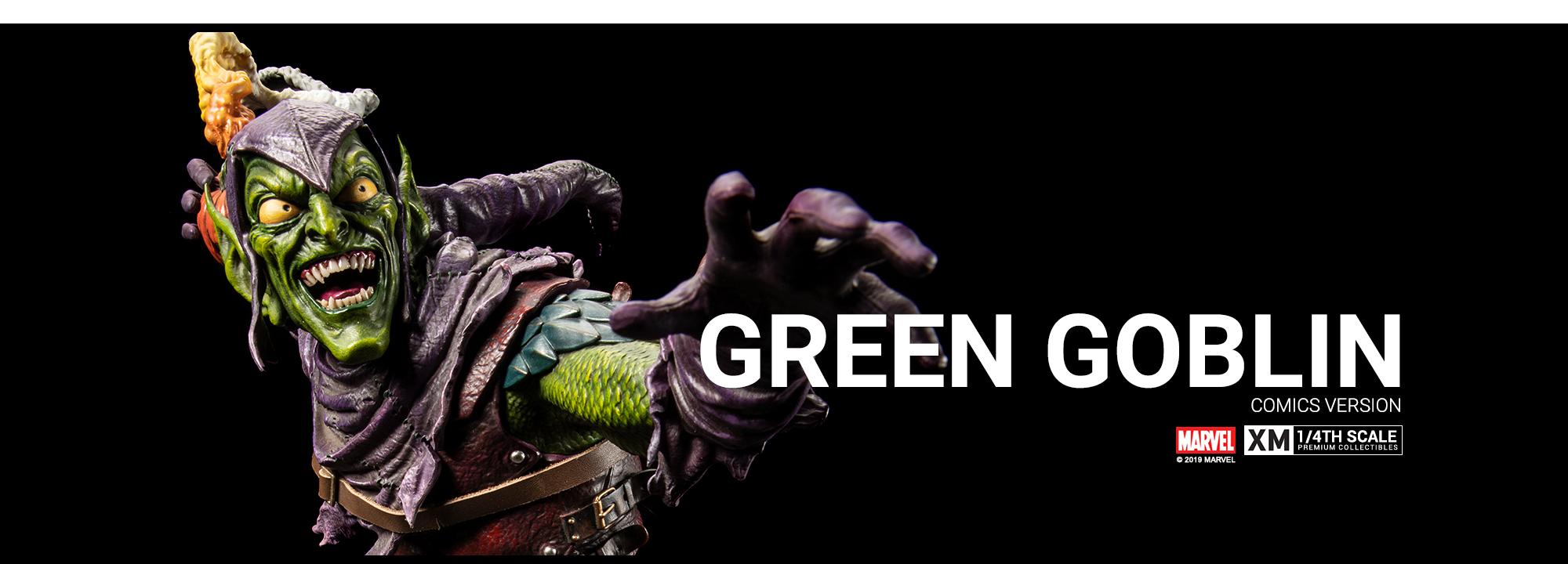 Green Goblin 1/4 da XM Studios