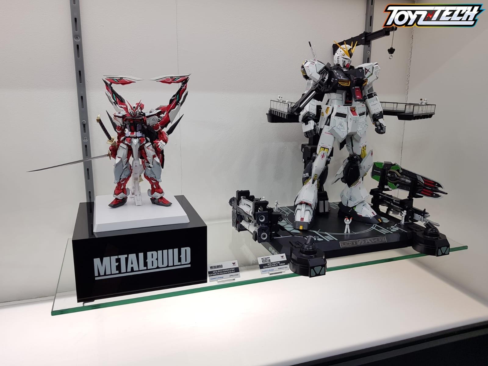 Lucca Comics 2019: RX-93 Nu Gundam Metal Structure