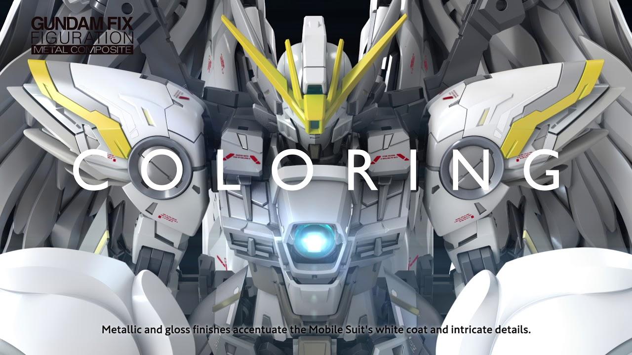 Bandai presenta il Wing Gundam Snow White Metal Composite