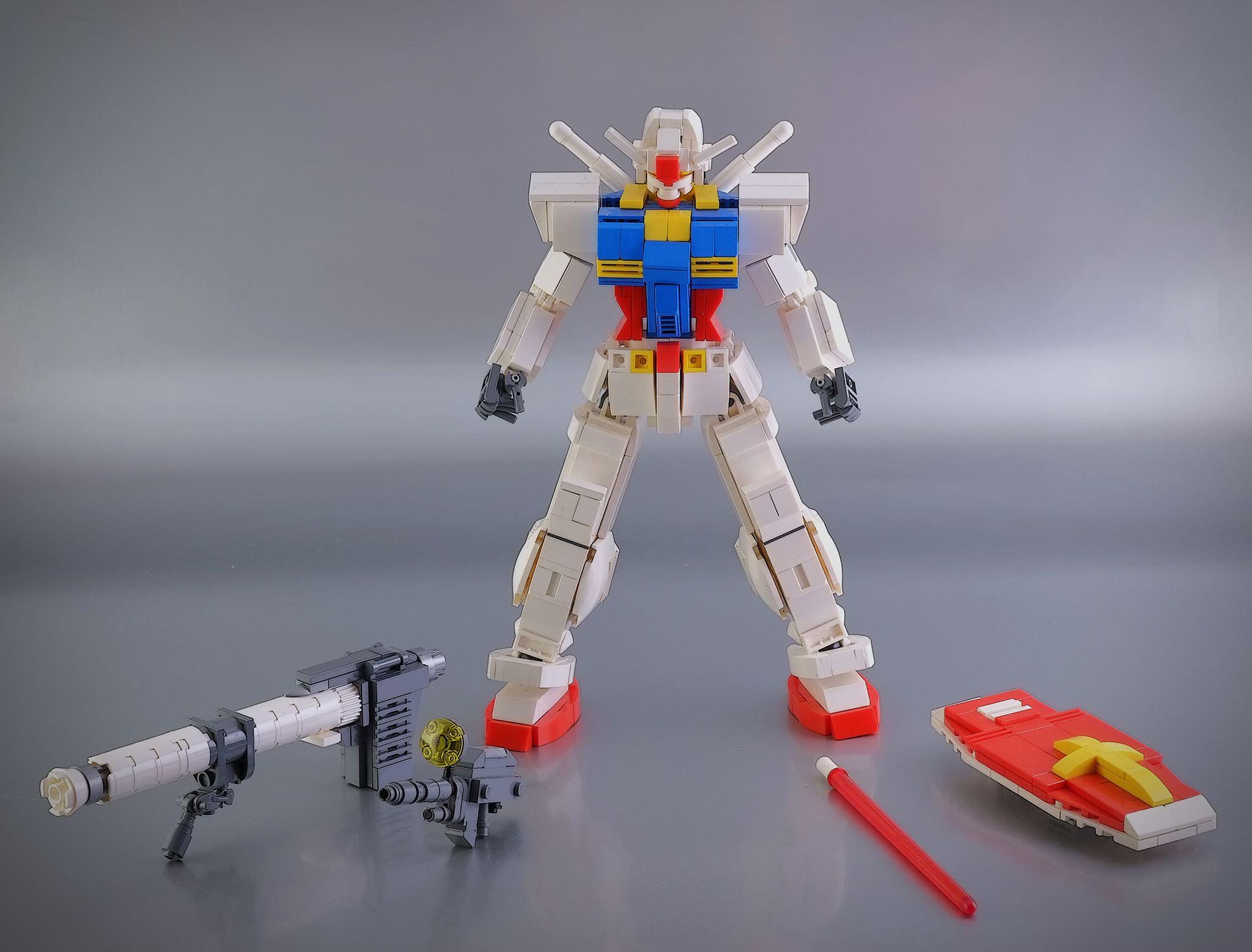 Lego Ideas: Il progetto del Gundam RX 78-2.