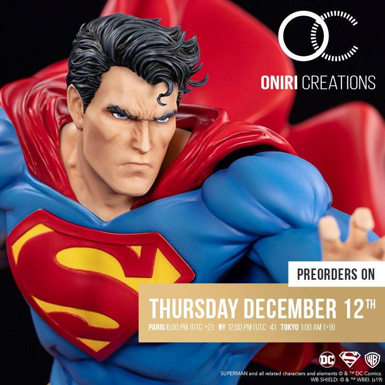 Oniri Créations annuncia la statua di Superman