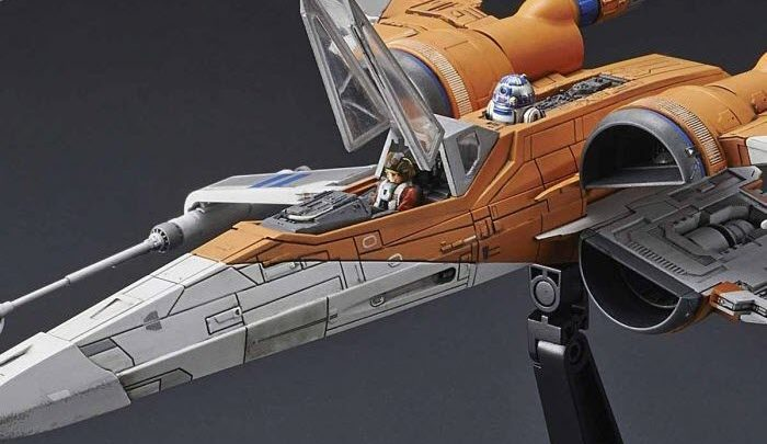"Bandai: Poe X-Wing Fighter 1/72 da ""Star Wars: The Rise of Skywalker"""