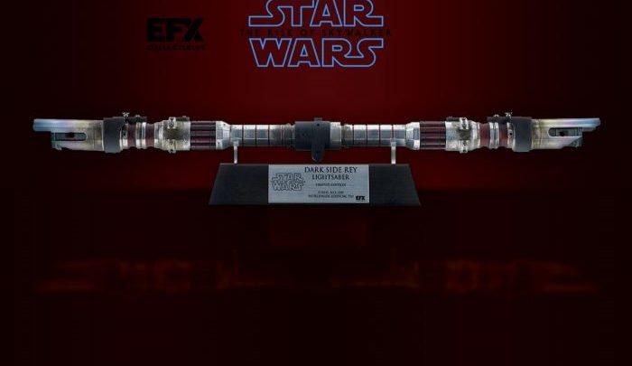 EFX Collectibles: Dark Rey Dual Bladed Lightsaber Replica