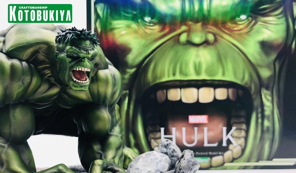 Recensione Hulk ARTFX Premiere da Kotobukiya
