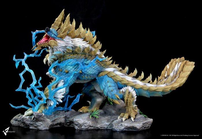 Kinetiquettes: Monster Hunter Zinogre Set