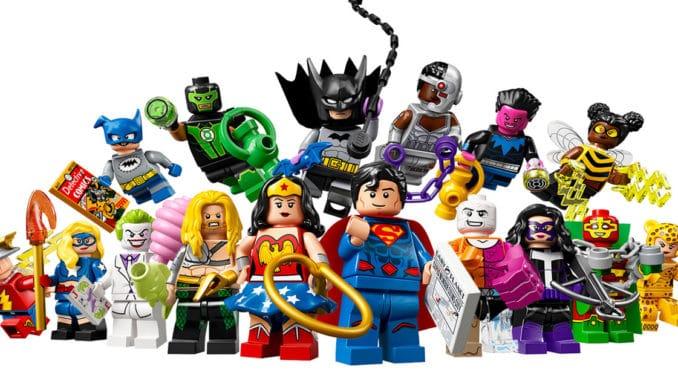 Lego Minifigure DC Comics