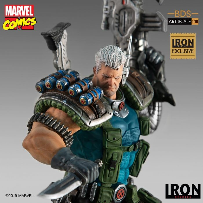 Iron Studios: Cable BDS Art Scale 1/10 – Series 6 Event Exclusive