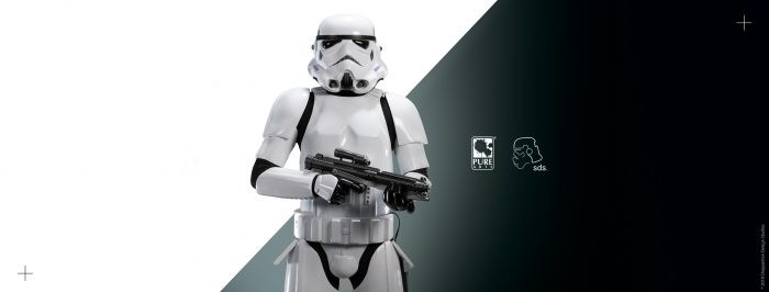 "Pure Arts: Original Stormtrooper 1/3 Statue da ""Star Wars"""