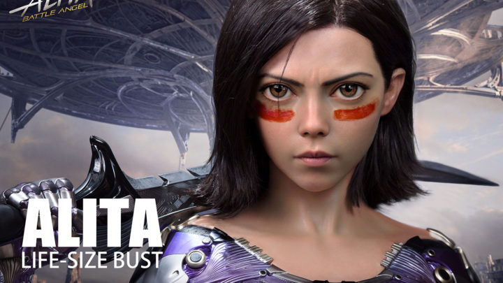 Queen Studios Collectibles: Alita Battle Angel Life Size Bust