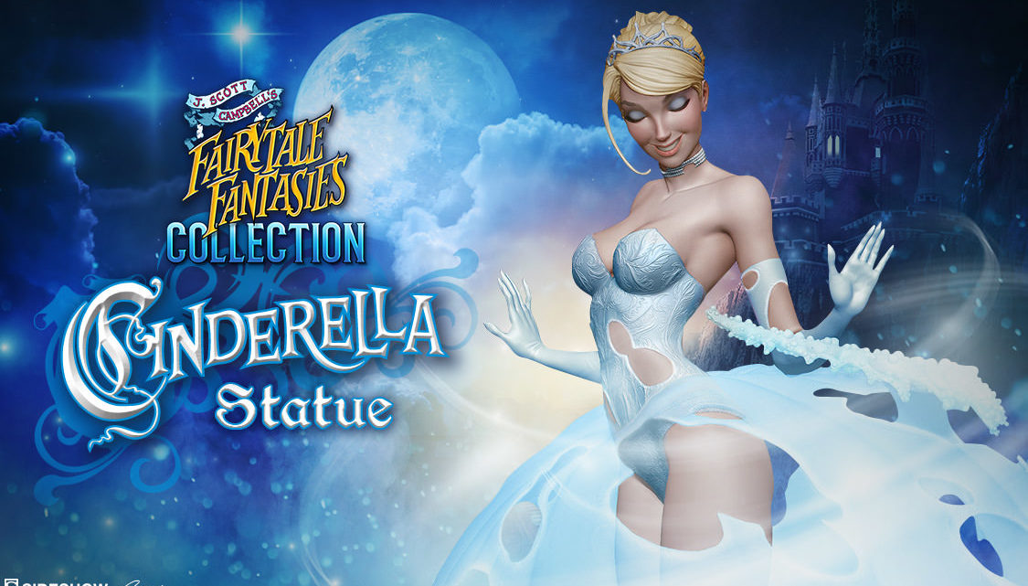 12 days of Sideshow: Cinderella Statue – J. Scott Campbell's Fairytale Fantasies Collection