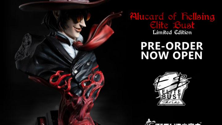 "Figurama Collectors: Alucard Elite Bust da ""Hellsing"""