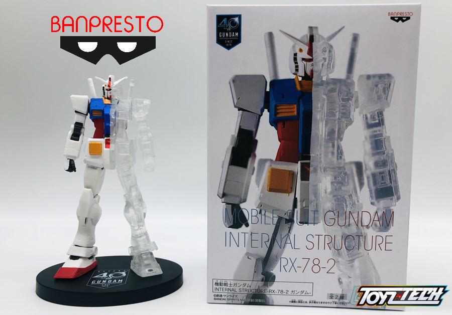 Mobile Suit Gundam Internal Structure RX-78 2 – Recensione