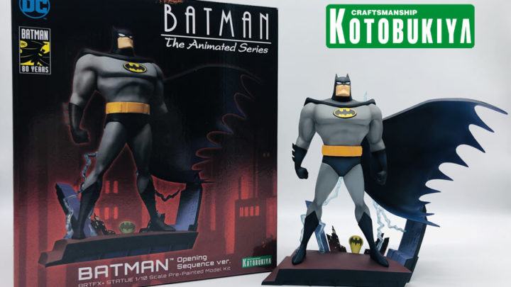 Batman: The Animated Series ARTFX+ di Kotobukiya Recensione