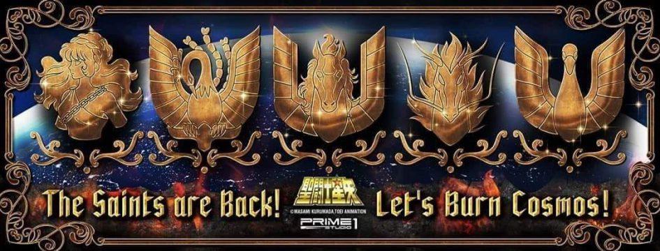 "Prime 1 Studio: in arrivo i Cavalieri di Bronzo da ""Saint Seiya"""