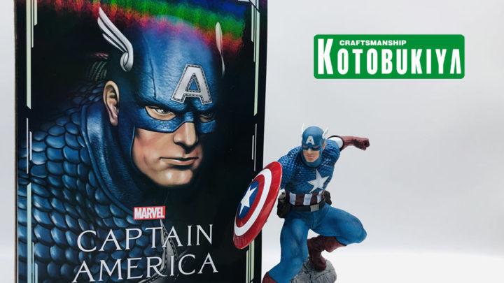 Recensione Captain America ARTFX Premiere da Kotobukiya