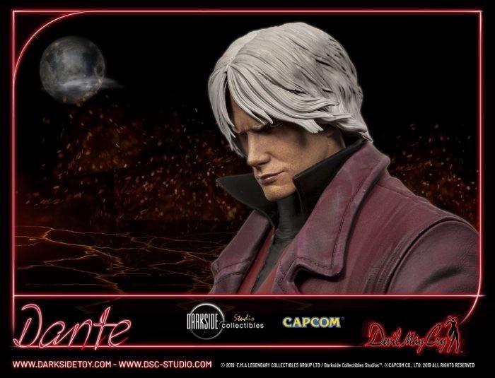 """DarkSide Collectibles Studio: Dante 1/3 & 1/4 Statue da """"Devil May Cry"""""""