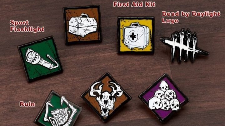 Dead by Daylight, Pins Collection Vol.1 da Gecco