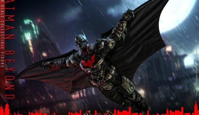 "Hot Toys: Batman Beyond 1/6 da ""Batman: Arkham Knight"""