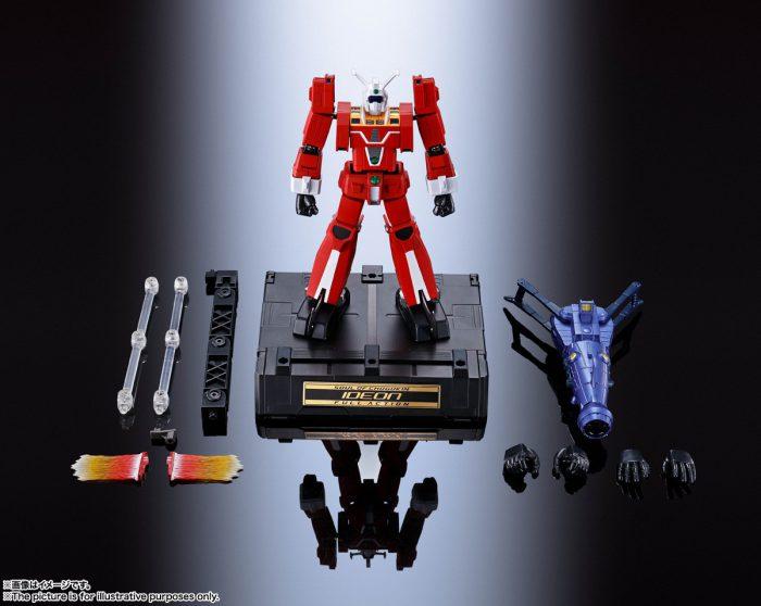 Ideon Soul of Chogokin GX-92 Full Action