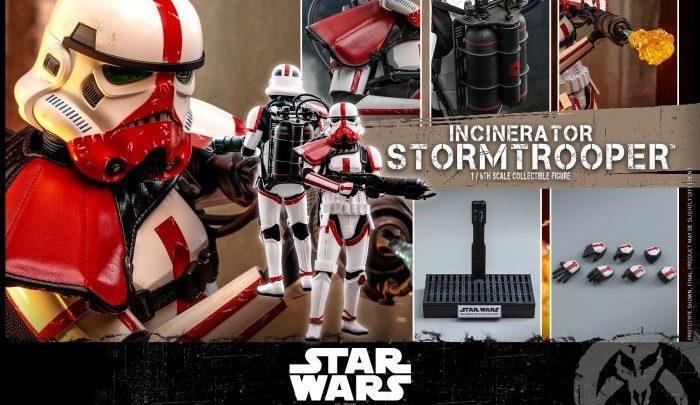 "Hot Toys: Incinerator Trooper 1/6 da ""Star Wars: The Mandalorian"""