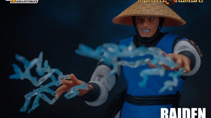 Storm Collectibles: Raiden 1/12 da Mortal Kombat 2