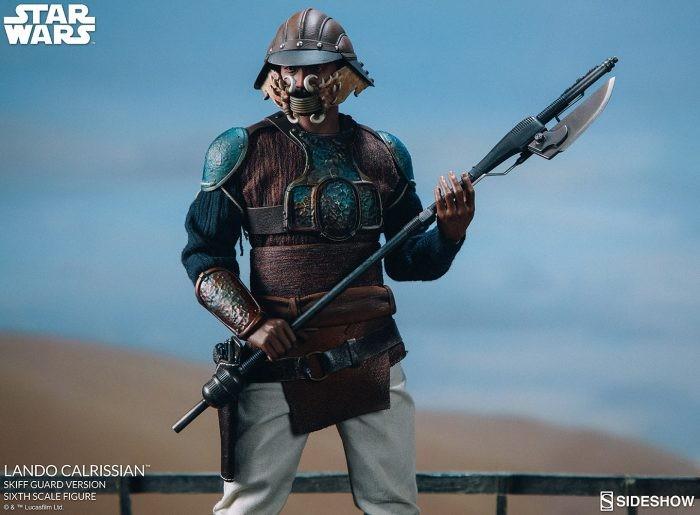 "Sideshow: Skiff Guard Lando Calrissian Figure da ""Star Wars: Return of the Jedi"""