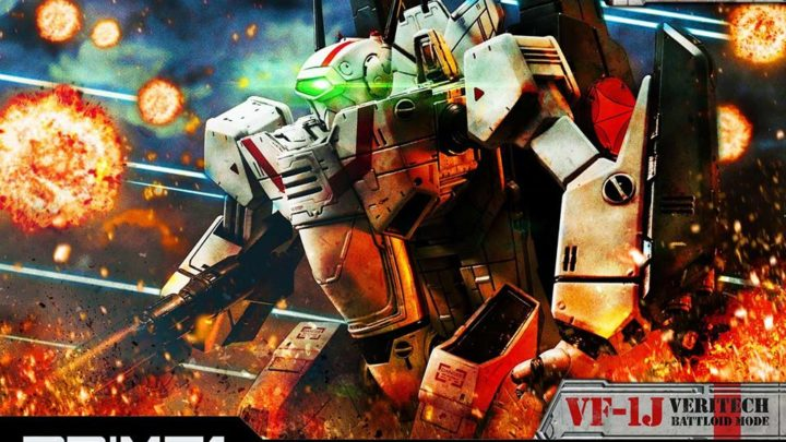 Prime 1 Studio: VF-1J Officer's Veritech Battloid Mode