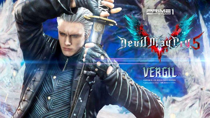 """Prime 1 Studio: Vergil da """"Devil May Cray 5"""""""