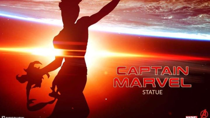 12 days of Sideshow: Captain Marvel Statue