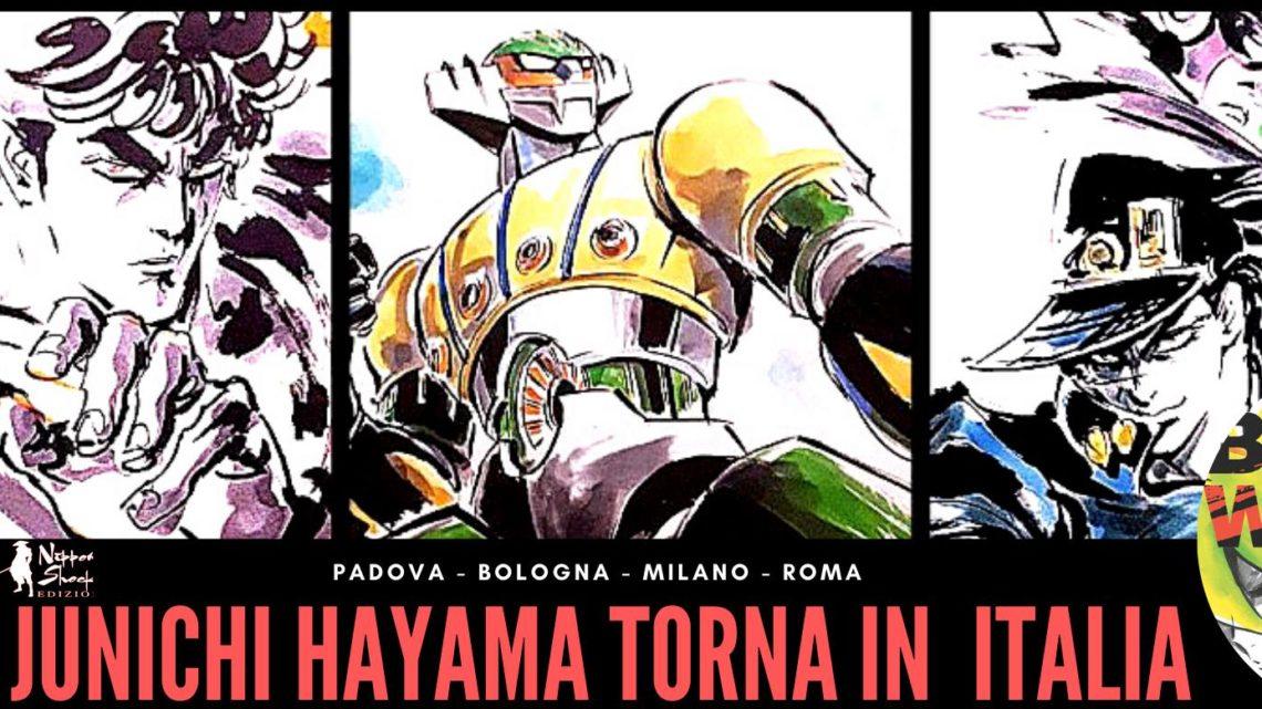 Il maestro Junichi Hayama torna in Italia