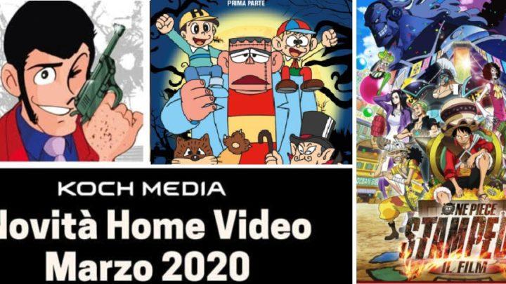 Anime Factory: Le novità Home Video di marzo 2020