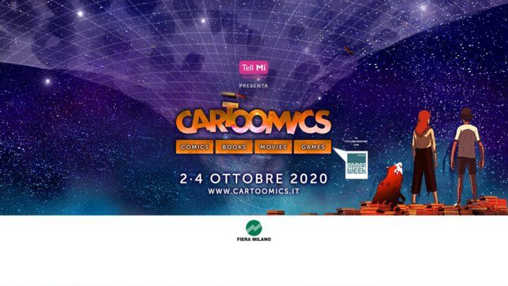 Cartoomics 2020 rimandato ad ottobre