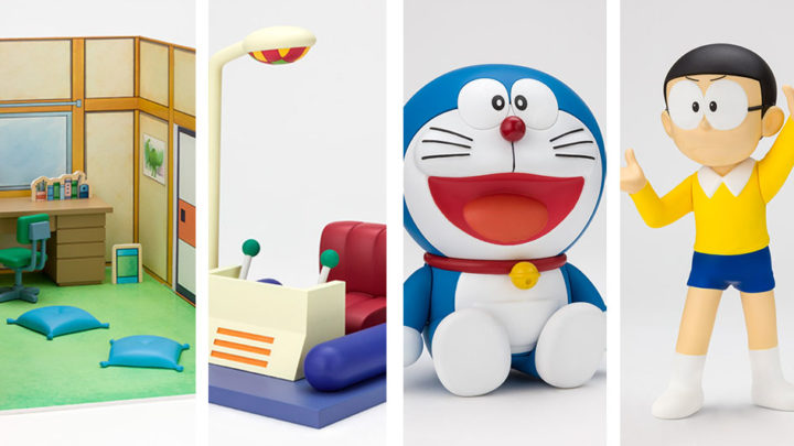 Nobita's Room, Time Machine, Doraemon e Nobita Figuarts ZERO di Tamashii Nations