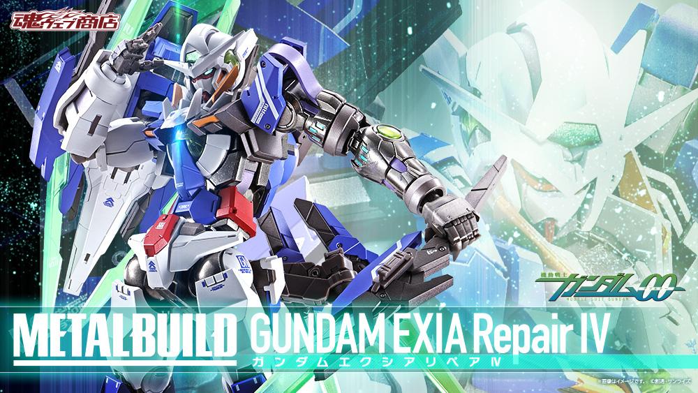 Gundam Exia Repair IV Metal Build di Tamashii Nations
