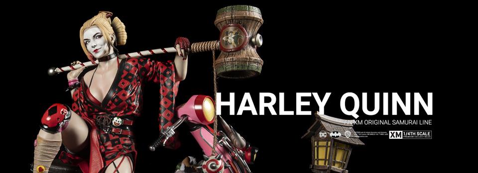 XM Studios: Harley Quinn Samurai Series 1/4 Premium Collectibles Statue