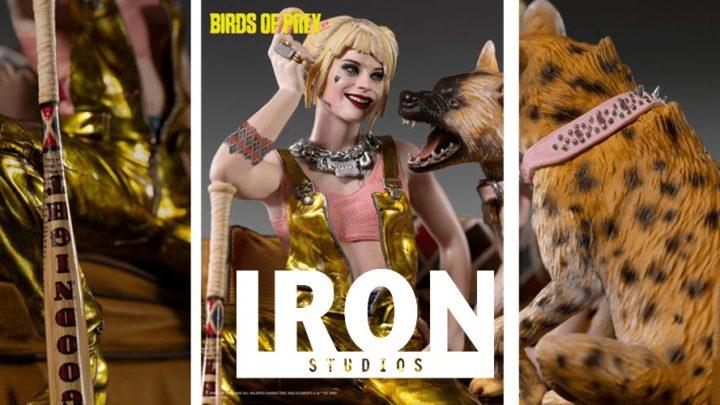 "Iron Studios: Harley Quinn e Bruce da ""Birds of Prey"""