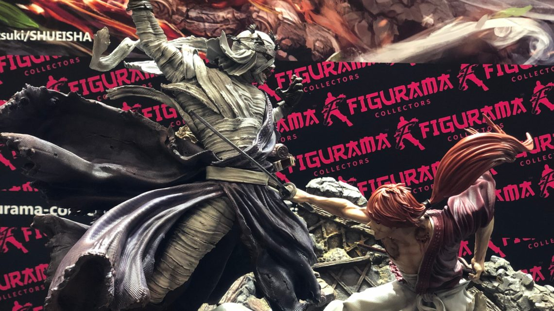 WF2020 Winter: Kenshin vs Shishio di Figurama Collector
