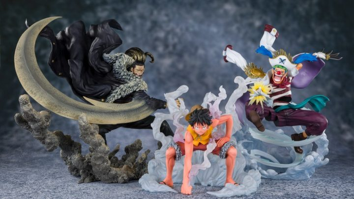 Luffy, Crocodile, Buggy Figuarts ZERO [EXTRA BATTLE] di Tamashii Nations