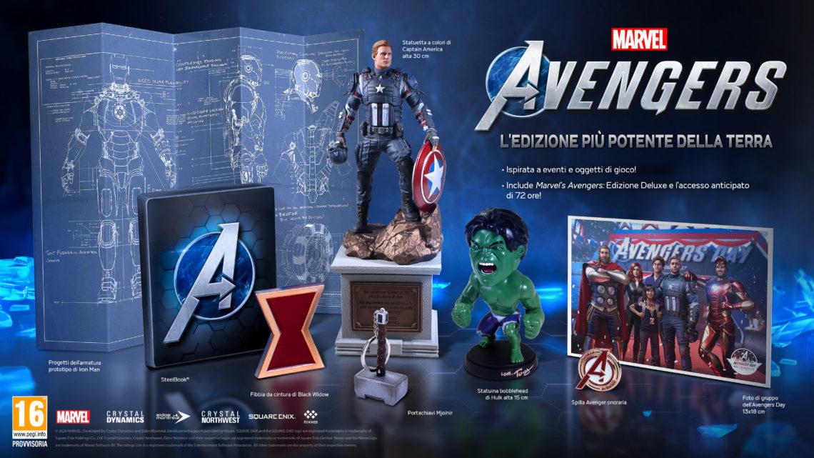 Marvel's Avenger Collector's Edition da Square-Enix