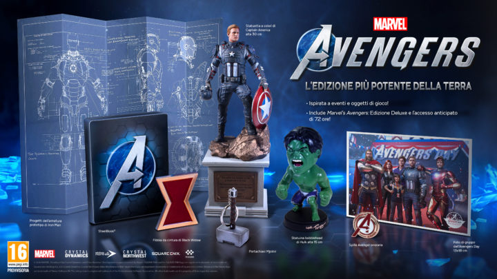 Marvel's Avenger Collector's Edition da Square-Enix