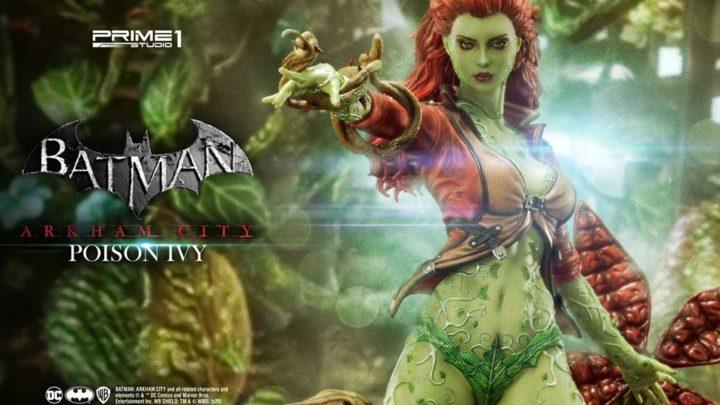 """Prime 1 Studio: Poison Ivy da """"Batman: Arkham City"""""""