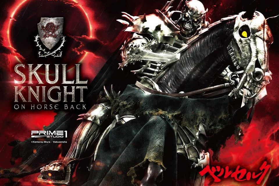 "Prime 1 Studio: Skull Knight on Horseback da ""Berserk"""