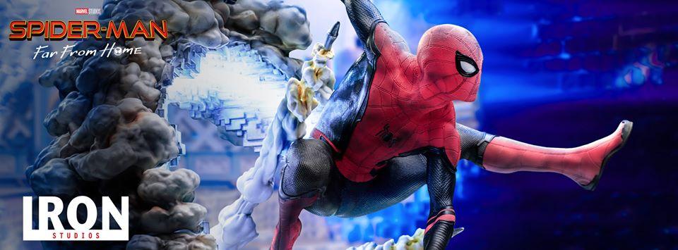 """Iron Studios: Spider-Man da """"Spider-Man: Far From Home"""""""